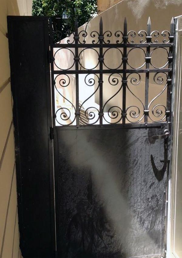 שערי ברזל שערי כניסה לבית מברזל