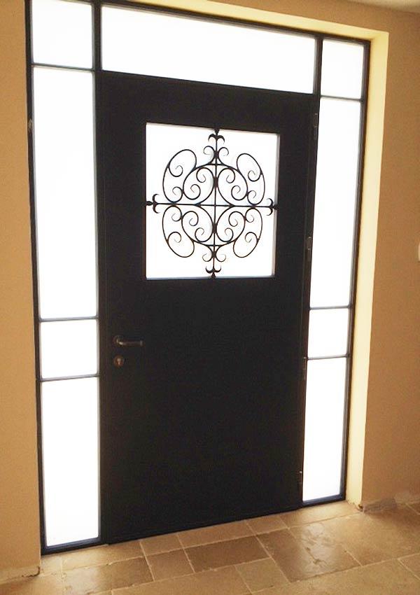 דלת ברזל לבית 90